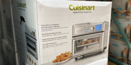 Cuisinart Digital Air Fryer Toaster Oven Just $159.99 at Costco (Regularly $200) | Features 10 Cooking Functions