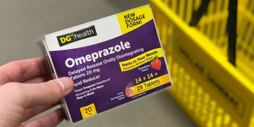Frequent Heartburn Treatments Costing a Fortune? Try Dollar General Health Omeprazole ODT