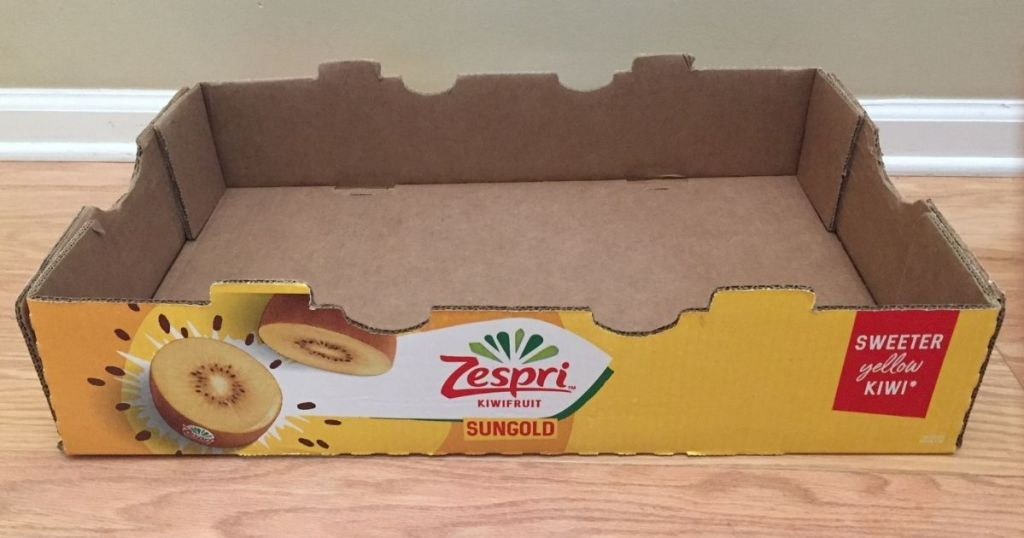 empty Zespri box