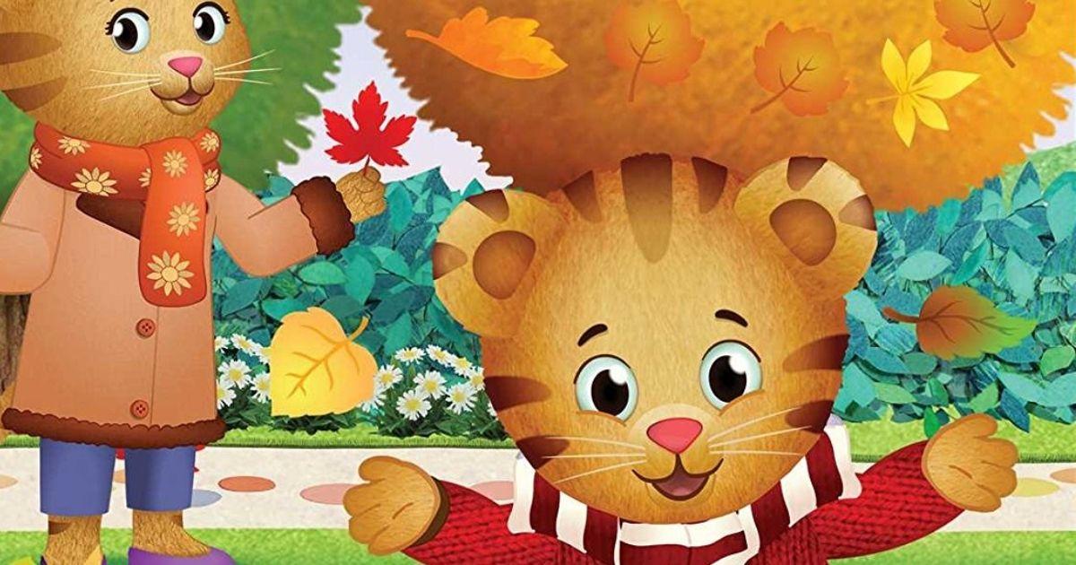 Daniel Tiger Loves Fall Board Book
