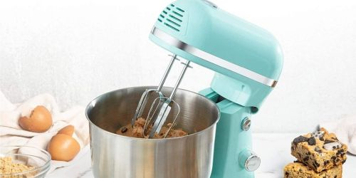 Dash Compact Stand Mixer Only $49.99 Shipped on Amazon | Weighs Less Than 5 Pounds