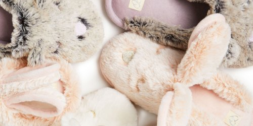 Dearfoams Slippers for the Family from $8.80 (Regularly $22+) | Great Gift Idea