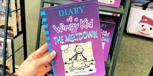 Diary of a Wimpy Kid The Meltdown Hardcover Book Just $3.75 on Amazon (Regularly $14)
