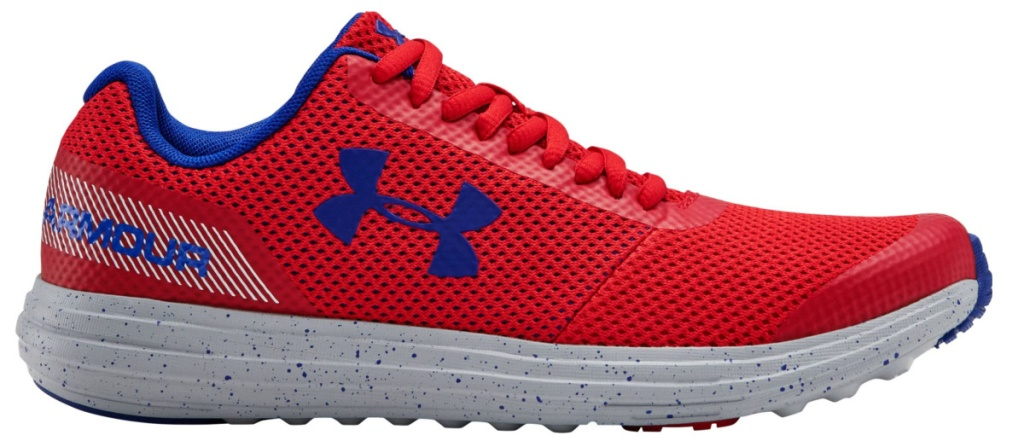 boys red and blue boy athletic shoe
