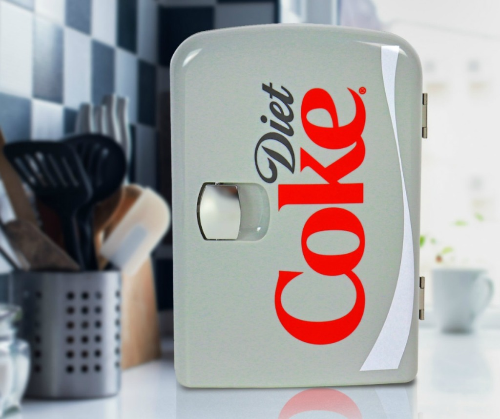 Diet Coke mini fridge