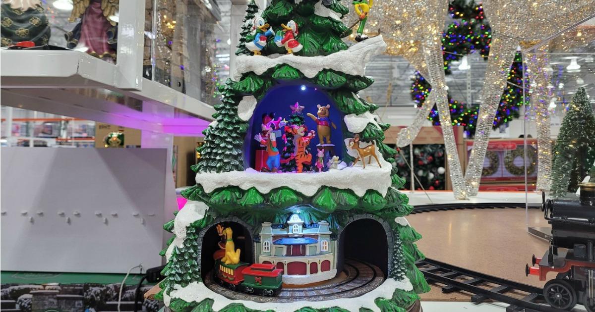 New Christmas Decor At Costco Disney Animated Tree Just 99 99 Hip2save