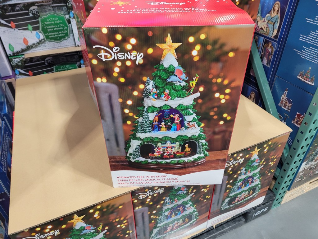 New Christmas Decor At Costco Disney Animated Tree Just 99 99 Hip2save