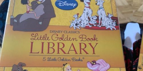 Little Golden Book Library Hardcover 5-Book Sets from $13.49 on Amazon