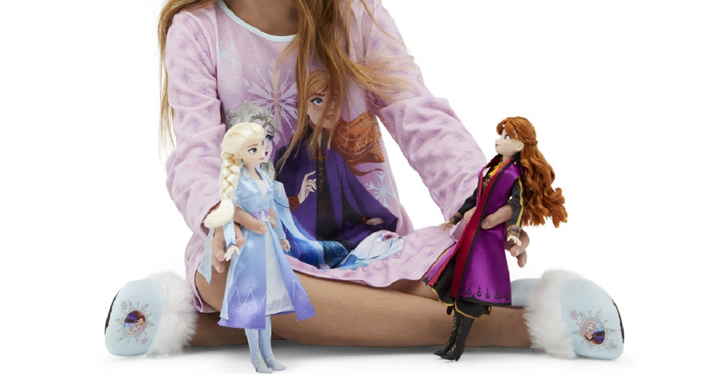 Disney Collection Frozen Elsa & Anna Doll Set