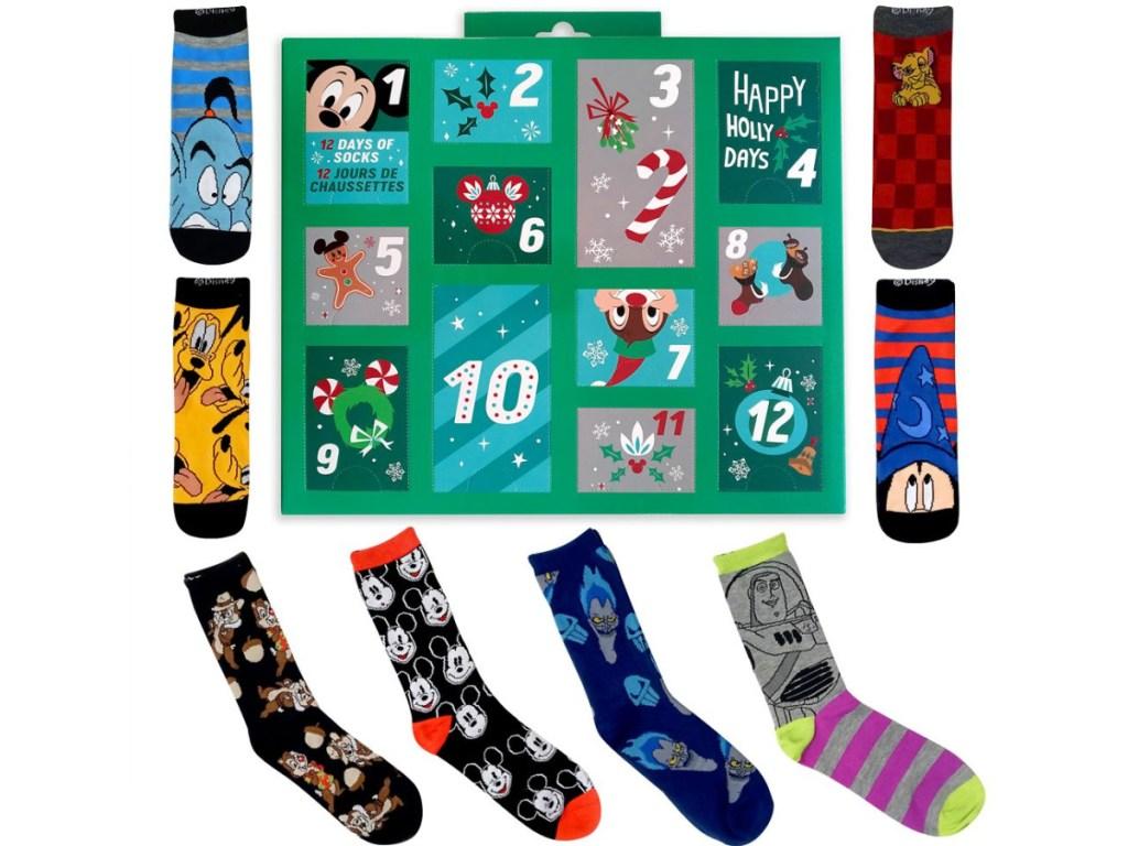 men's Disney sock advent calendar