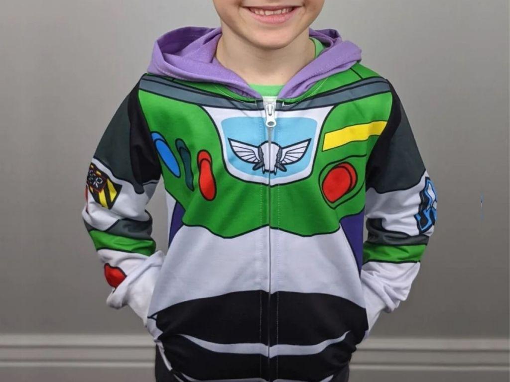Disney Inspired Buzz Lightyear Hoodie