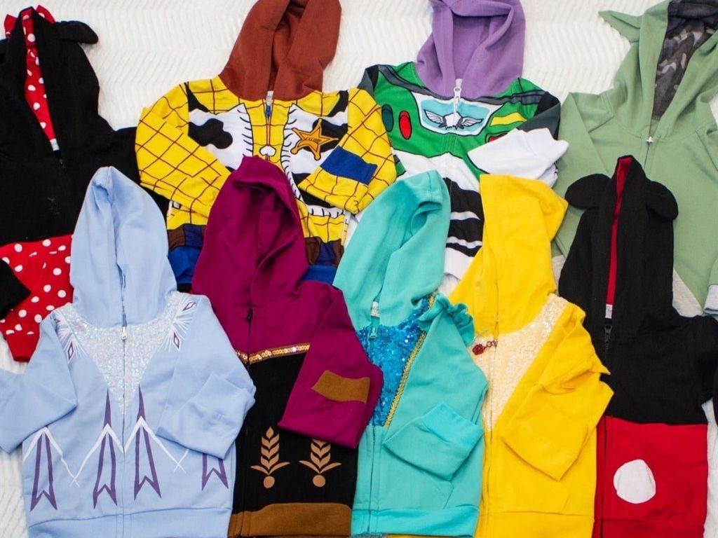 Nine Disney Inspired Kids Hoodies