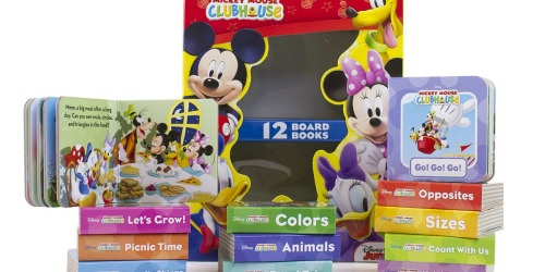 Disney's My First Library 12 Board Book Sets from $6.74 Each on Kohls.com (Regularly $18)