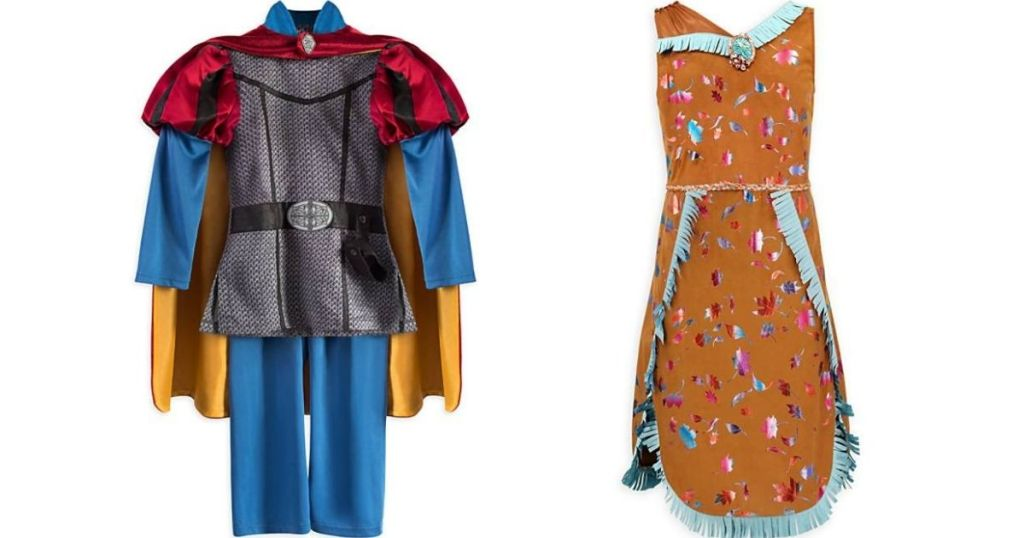 Prince Philip and Pocahontas costumes