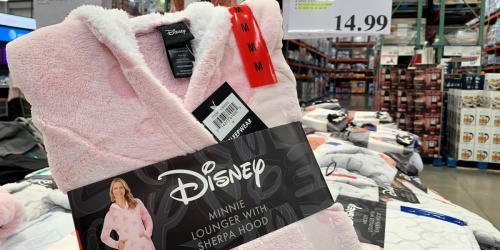 Disney & Harry Potter Sherpa Hooded Loungers Only $14.99 at Costco