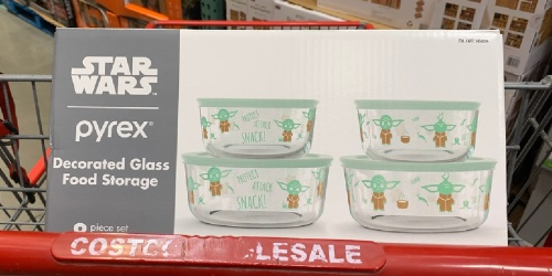 Disney & Star Wars Pyrex 8-Piece Storage Sets Only $17.99 at Costco