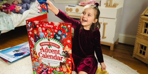 Disney Storybook Advent Calendar Only $16.99 on Amazon (Regularly $30) | Includes 24 Wrapped Books