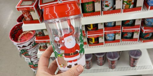 Christmas Coffee Mugs & Kids Tumblers Only $1 at Dollar Tree