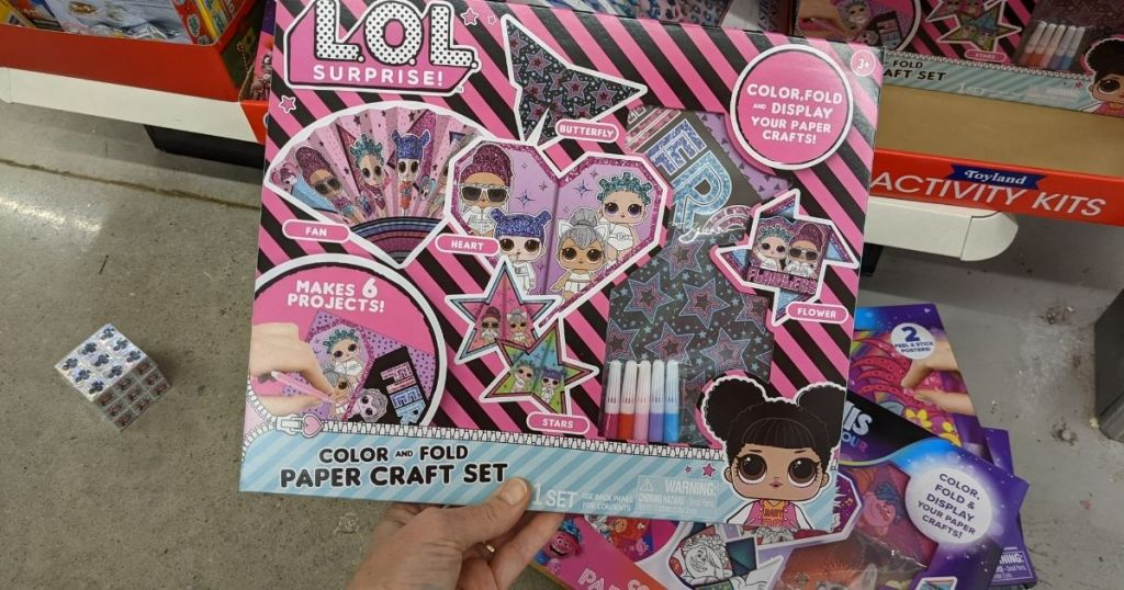 LOL Craft kit held by hand