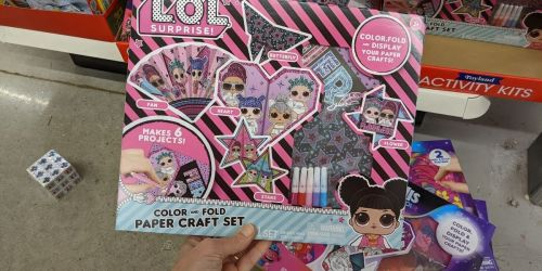 Dollar Tree Craft Kits Only $1 | L.O.L Surprise!, Disney, Trolls World Tour, & More