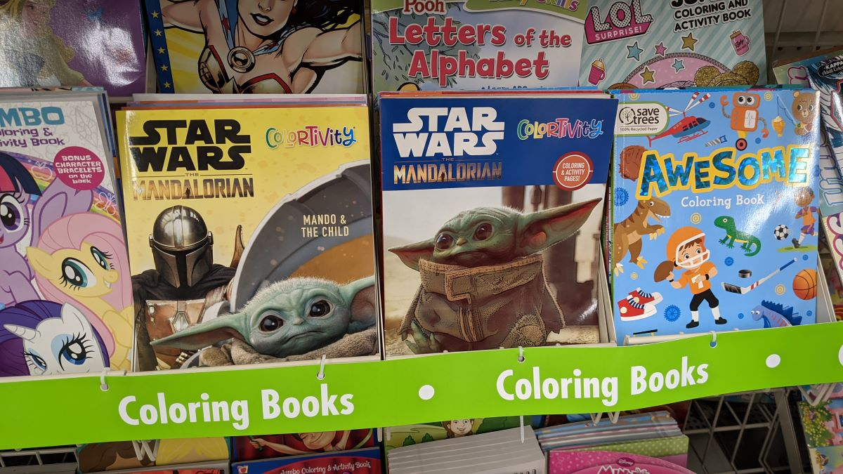- Star Wars Coloring Books Just $1 At Dollar Tree Great Stocking Stuffer -  Hip2Save