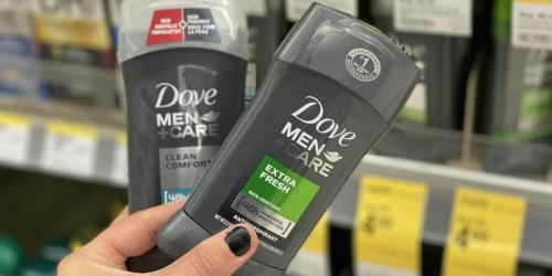 Over $10 Worth of Dove Coupons = Men + Care Deodorant Just 99¢ After Cash Back at Walgreens
