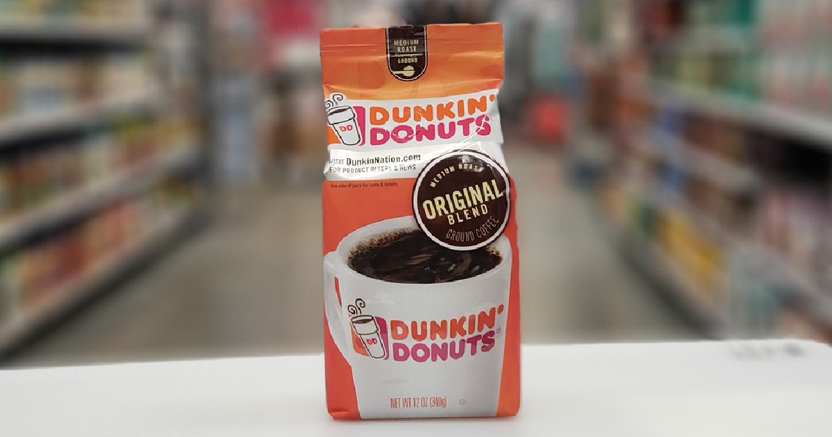 bag of coffee in store