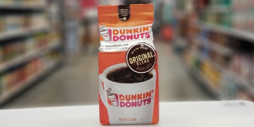 Dunkin' Ground Coffee 12oz Bags Only $4 Each Shipped on Amazon