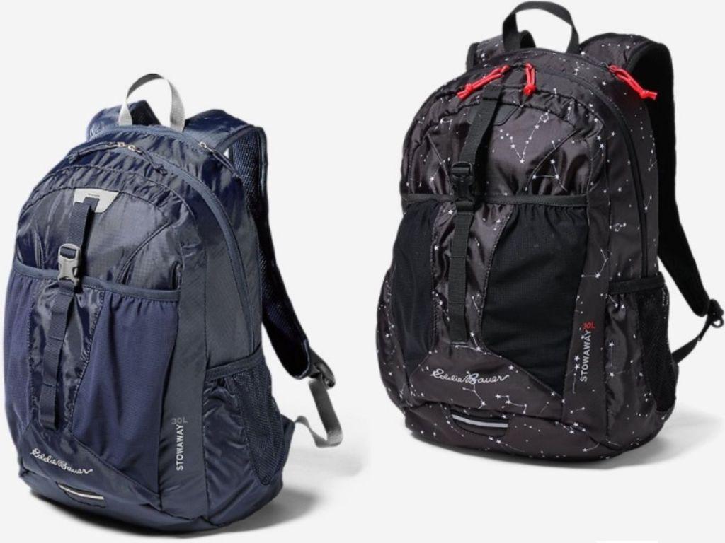 Two Eddie Bauer Backpacks