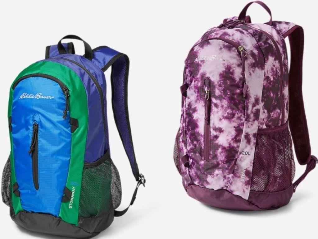 Eddie Bauer Packable Backpacks