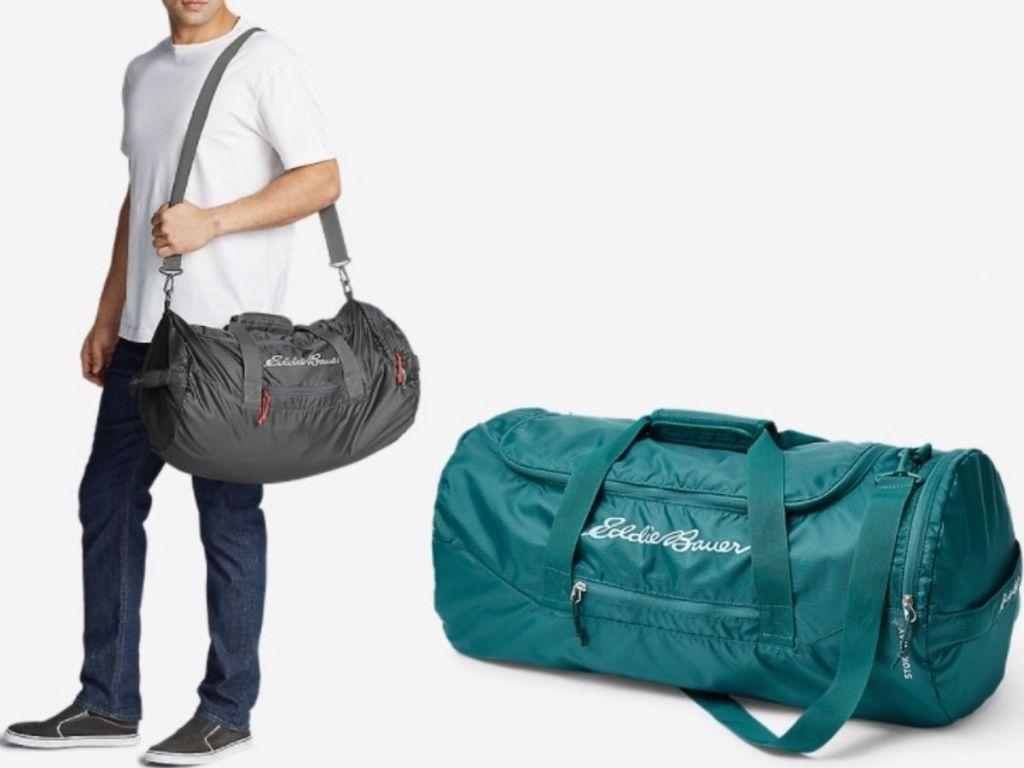 Eddie Bauer Packable Duffle Bag