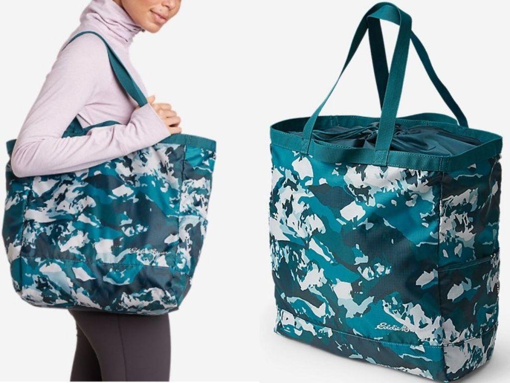Eddie Bauer Packable Tote Bag