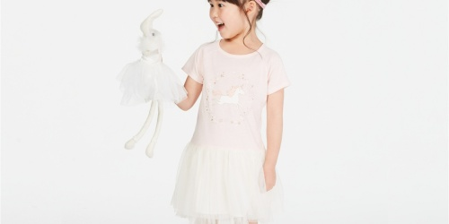 65% Off Girls Dresses & Leggings on Macys.com | Disney, Hello Kitty & More