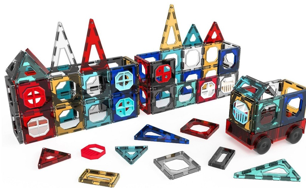FAO Schwarz Magnetic Tiles toy set