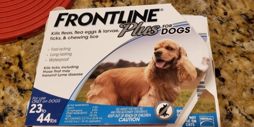 Frontline Plus Flea & Tick Treatment 8-Count Only $46.42 Shipped on Amazon (Regularly $90)