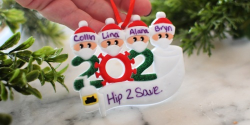 *HOT* Personalized Quarantine Christmas 2020 Ornament Only $6.88 Shipped on Amazon