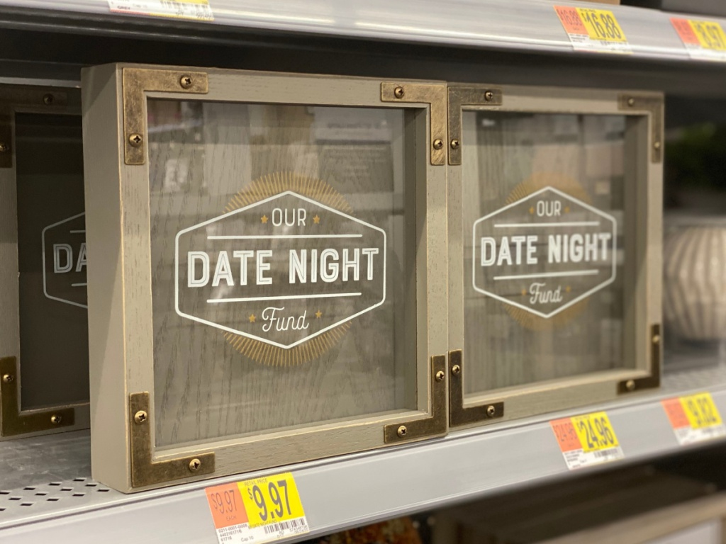 date night fund farmhouse style bank