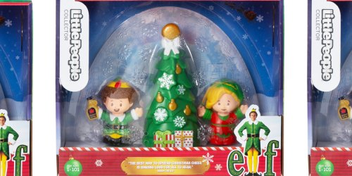 Fisher-Price Little People Elf Movie Collector's Set Just $14.99 on Walmart.com | Fun Gift Idea
