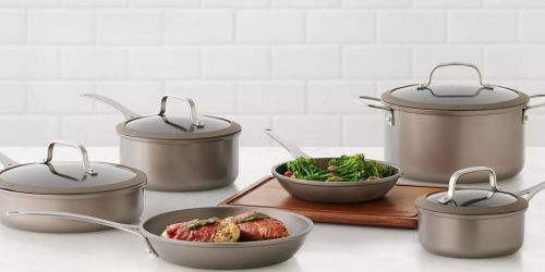 Food Network 10-Piece Cookware Set from $83.99 Shipped (Regularly $180) + Get $10 Kohl's Cash