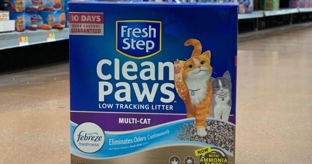 Fresh Step Clean Paws Cat Litter