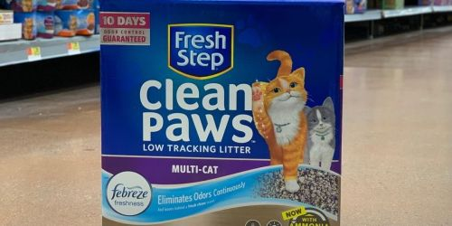 Fresh Step Advanced 37-Pound Cat Litter Only $16.79 Shipped on Amazon (Regularly $24)