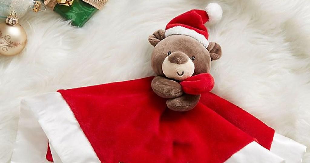GUND christmas blanket plush