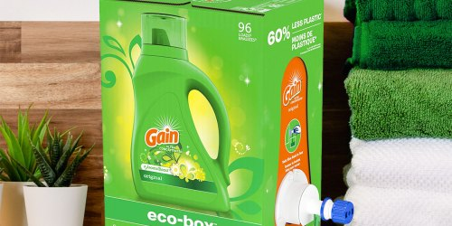 Gain Laundry Detergent 105oz Box Just $12.77 Shipped on Amazon (Regularly $18)