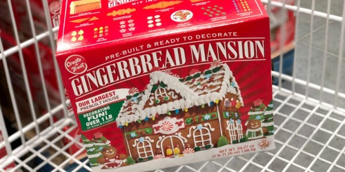 Prebuilt Gingerbread Mansion Only $11.99 at Costco | Includes Over 1 Pound of Icing & Candy