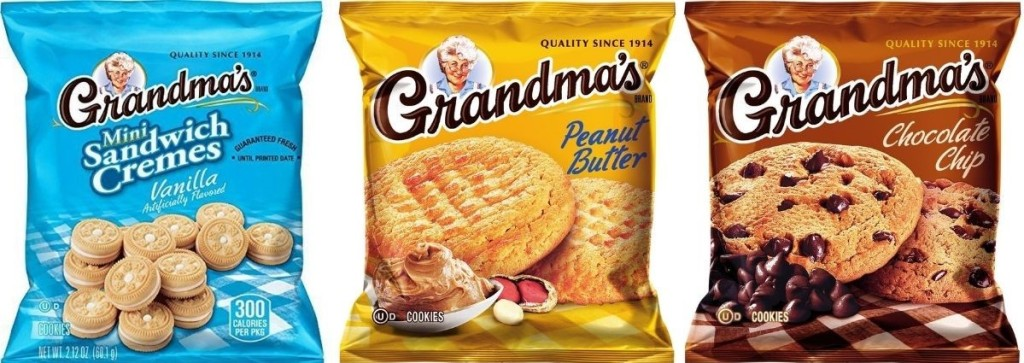 three grandma's cookies