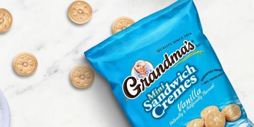 30% Off Grandma's Mini Cookies 60-Packs & Free Shipping for Amazon Prime Members
