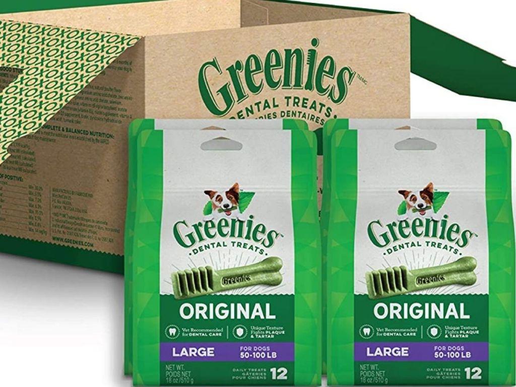 Greenies Large Breed Dental Dog Treats
