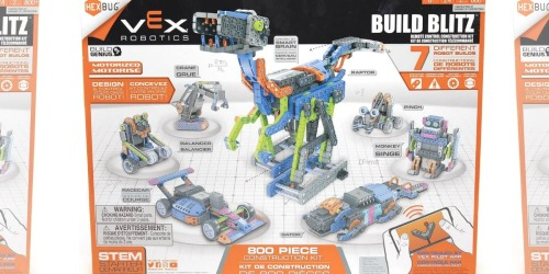 HEXBUG Motorized Construction Set Only $112.49 Shipped on Target (Regularly $150) | Over 800 Pieces