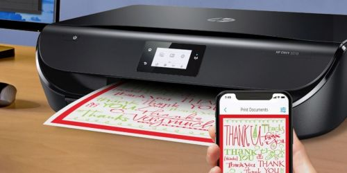 HP ENVY Wireless All-In-One Inkjet Printer Only $34.99 on BestBuy.com (Regularly $130)