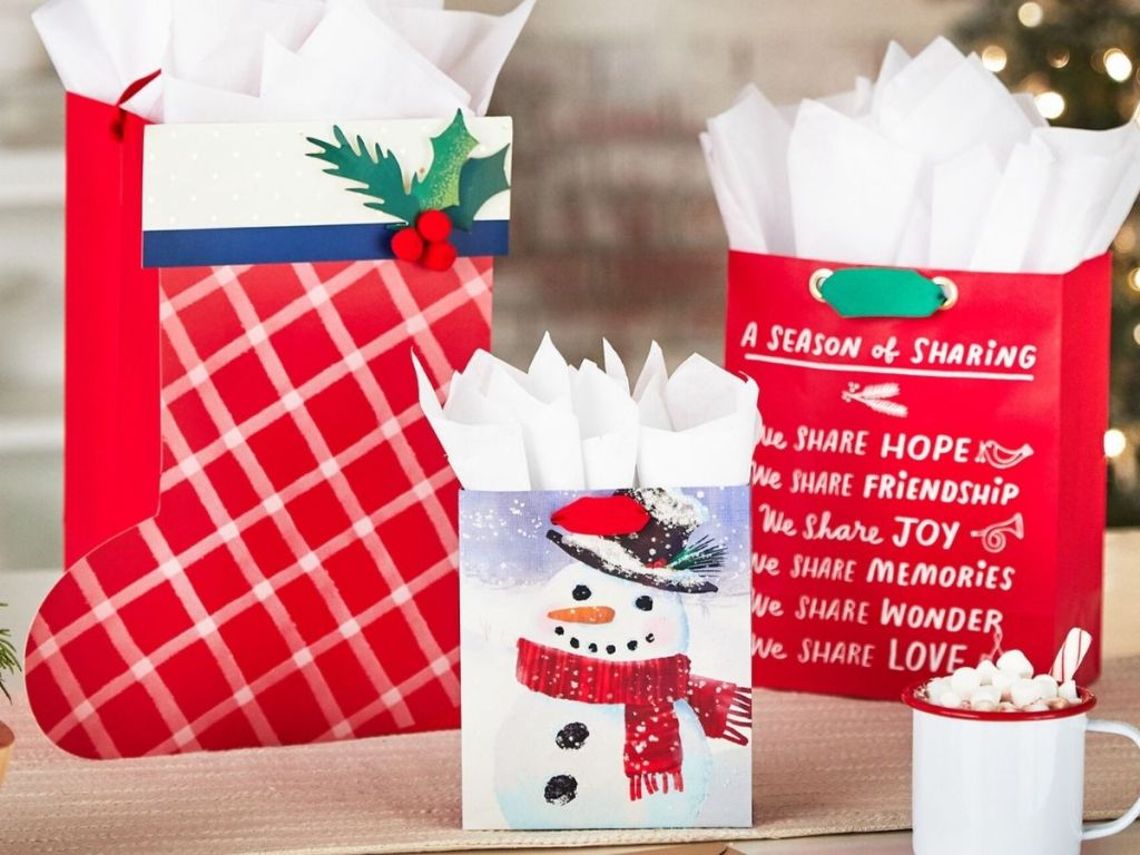 Hallmark Holiday Gift Bags